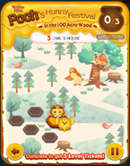 Pooh's Hunny Festival Card 5a