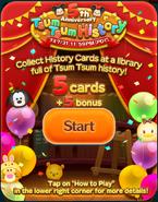 5th Anniversary Tsum Tsum History Start