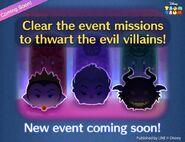 DisneyTsumTsum Events International Villains LineAd 201611