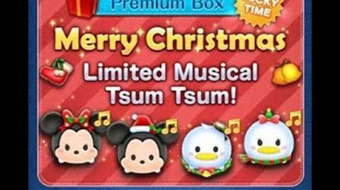 Disney Tsum Tsum - Holiday Minnie