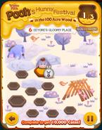 Pooh's Hunny Festival Card 6b