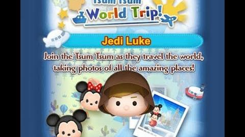 Disney Tsum Tsum - Jedi Luke (Tsum Tsum World Trip - 1st Trip 8 - 8)