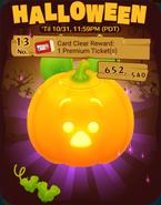 DisneyTsumTsum Events International Halloween2016 Card13Clear 201610
