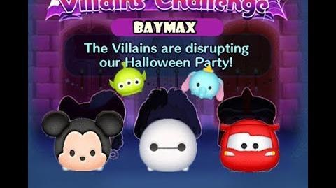 Disney Tsum Tsum - Baymax (Disney Villains' Challenge - Cruella Map 13)