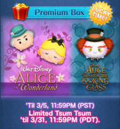 DisneyTsumTsum LuckyTime International MadHatterWonderlandAliceTheatricalMadHatter Screen1 201703