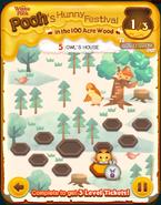 Pooh's Hunny Festival Card 5b