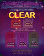 Villains' Challenge 2019 All Clear