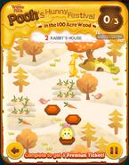 Pooh's Hunny Festival Card 2