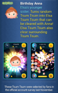 DisneyTsumTsum LuckyTime International BelleBeastSurpriseElsaBirthdayAnna Screen5 201702