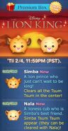 DisneyTsumTsum LuckyTime International SimbaNala Screen1 201702