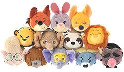 DisneyTsumTsum PlushSet Zootopia jpn 2016 Mini