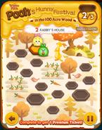 Pooh's Hunny Festival Card 2c