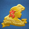 DisneyTsumTsum Pins International UnderTheSea GoldAriel