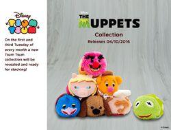 DisneyTsumTsum PlushSet Muppets uk 2016 Mini Banner