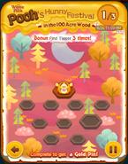 Pooh's Hunny Festival Bonus Card b