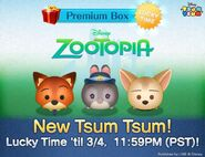 DisneyTsumTsum Lucky Time International Zootopia LineAd 20160302