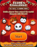 Score Challenge! Oct19 Start