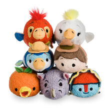 DisneyTsumTsum PlushSet Adventureland 2016 Mini