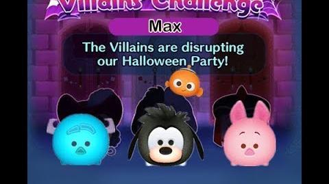 Disney Tsum Tsum - Max (Disney Villains' Challenge - Jafar Map 15)