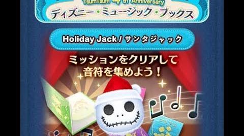 Disney Tsum Tsum - Holiday Jack (Disney Music Books Event - Book 1 - 8 - Japan Ver)
