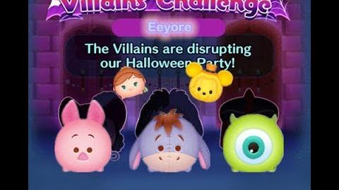 Disney Tsum Tsum - Eeyore (Disney Villains' Challenge - Captain Hook Map 15)