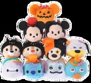 DisneyTsumTsum PlushSet Halloween jpn 2016 Mini