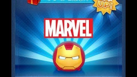 Disney Tsum Tsum - Iron Man (Japan Ver)