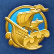 DisneyTsumTsum Pins International Pirates Gold