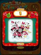 5th Anniversary Tsum Tsum History Card 2 Event Clear