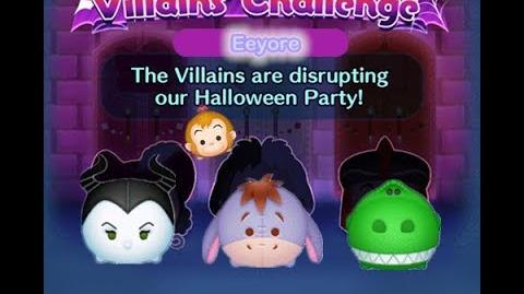Disney Tsum Tsum - Eeyore (Disney Villains' Challenge - Jafar Map 9)