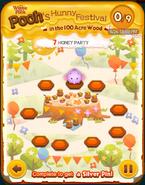 Pooh's Hunny Festival Card 7b