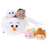 DisneyTsumTsum PlushSetBag FrozenFever jpn 2015 Mini