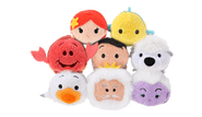 DisneyTsumTsum PlushSet LittleMermaid jpn 2016 Mini