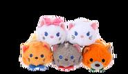 DisneyTsumTsum PlushSet Aristocats jpn 2016 Mini