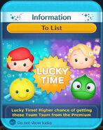 DisneyTsumTsum LuckyTime International ValentinesDay2016 LittleMermaidTangled Screen 20160212