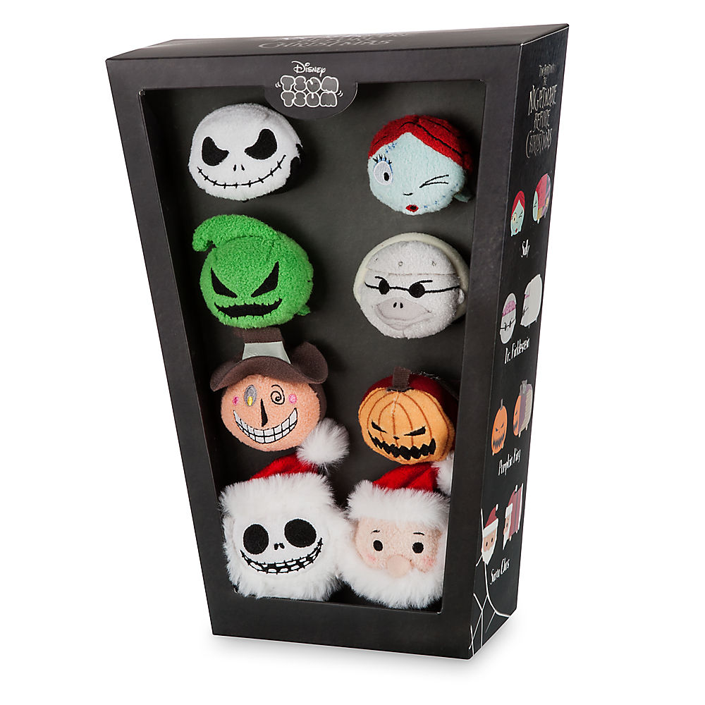 Image - DisneyTsumTsum PlushSet NightmareBeforeChristmas BoxSet2 ...