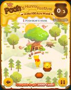 Pooh's Hunny Festival Card 1