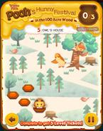 Pooh's Hunny Festival Card 5