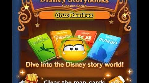 Disney Tsum Tsum - Cruz Ramirez (Disney Story Books - Peter Pan 18)