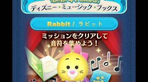 Disney Tsum Tsum - Rabbit (Disney Music Books Event - Book 1 - 19 - Japan Ver)