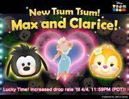DisneyTsumTsum Lucky Time International MaxClarice LineAd 20160404