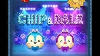 Disney Tsum Tsum - Idol Chip Dancing Chip (JP Ver) アイドルチップ