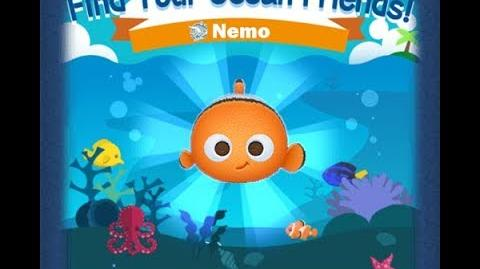 Disney Tsum Tsum - Nemo (Find Your Ocean Friends Event - Mission 44)