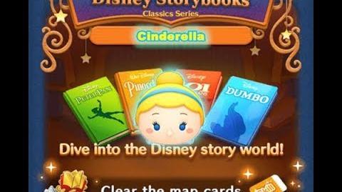 Disney Tsum Tsum - Cinderella (Disney Story Books - Pinocchio 17)