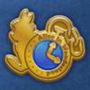 DisneyTsumTsum Pins AliceInWonderland Gold