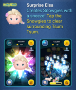 DisneyTsumTsum LuckyTime International BelleBeastSurpriseElsaBirthdayAnna Screen4 201702