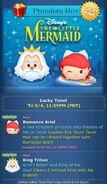 DisneyTsumTsum Lucky Time International LittleMermaid Screen 20160801