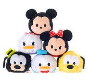 DisneyTsumTsum PlushSet Mickey&Friends jpn 2016 Mini
