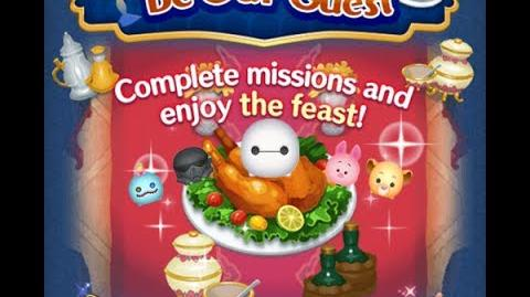 Disney Tsum Tsum - Baymax (Be Our Guest Event - Extra Card 7 - 3)