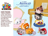 DisneyTsumTsum PlushSet Aristocats us 2017 Mini Banner